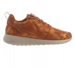 Nike Metallic Burnt orange sneakers women new cute